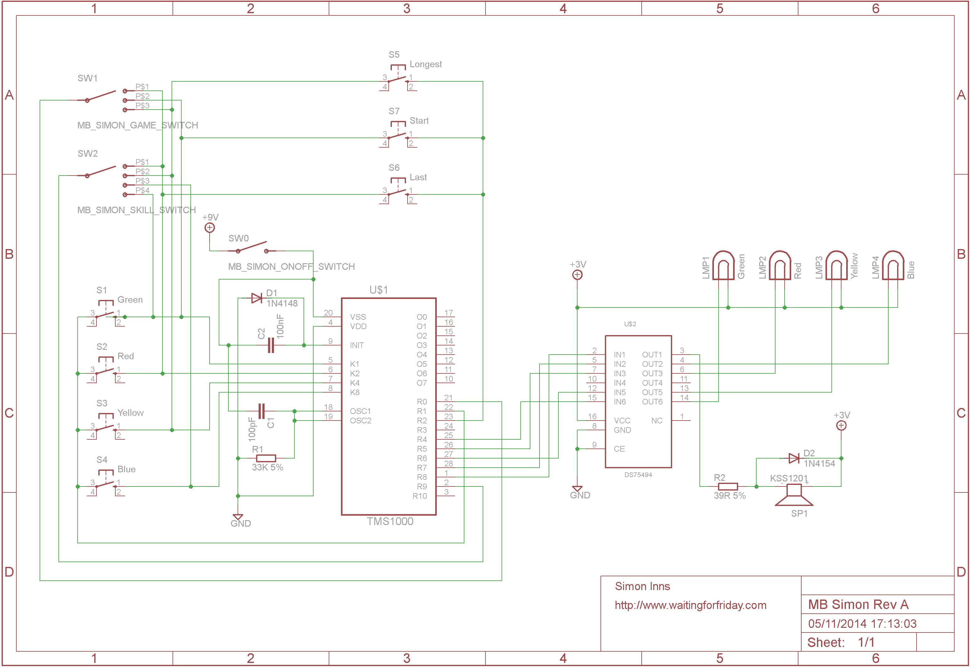 reverse engineering an mb electronic simon game  u2013 waiting