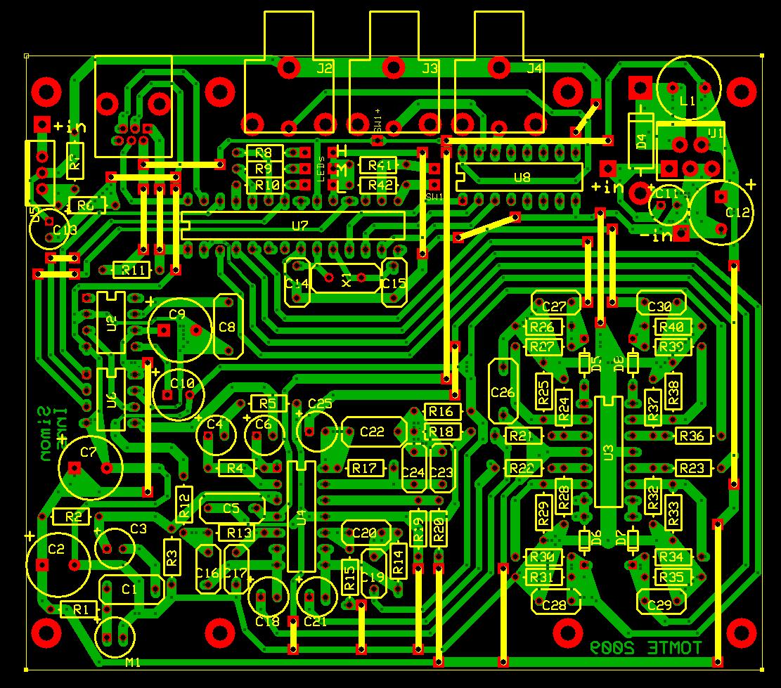 Soundtolight Converter Schematic Diagram Audio Amplifier Schematic