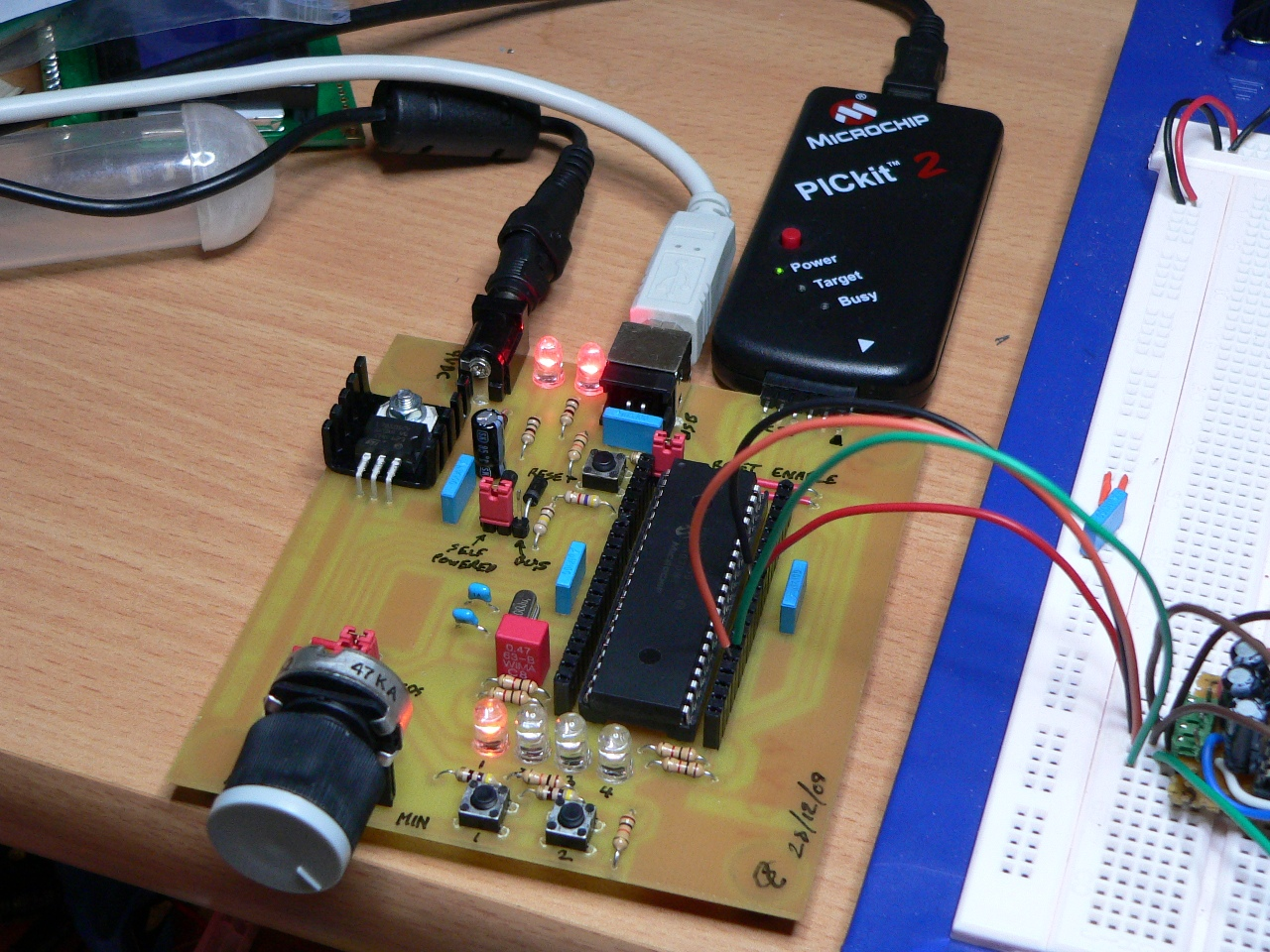 PIC USB Development Board – Waiting for Friday